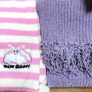 David & goliath scarf and Airport scarf  kids